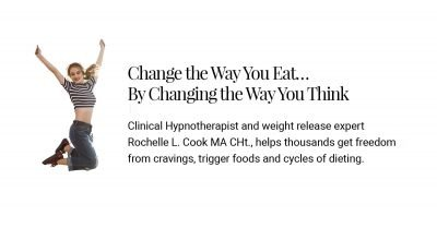Change the Way You Eat… By Changing the Way You Think with Ms. Cook's hypno-Behavioral Weight Loss Program.