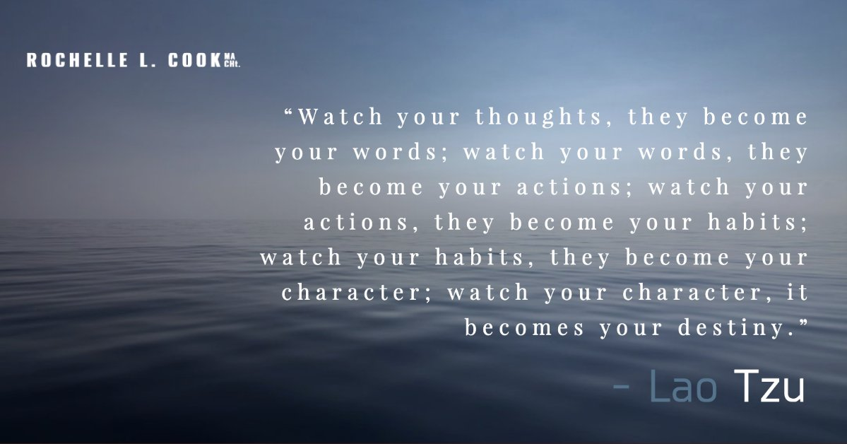 If you know me by coming to one of my monthly workshops or retreats or communicate with me via email you'll recognize this from Lao Tzu.