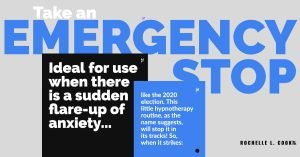 Take an Emergency Stop this #2020election cycle. Try Self-Hypnosis to stop the worry.